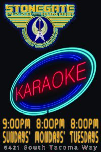 Karaoke @ Stonegate Pizza and Rum Bar | Tacoma | Washington | United States